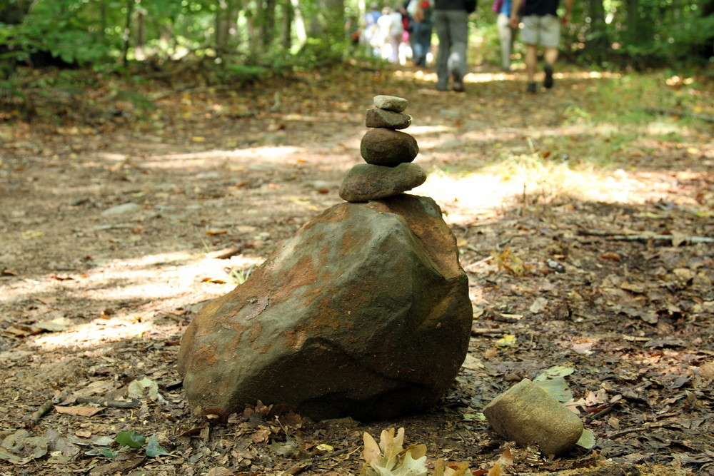A cairn to guide our way