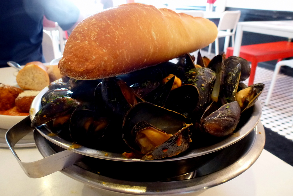 Get the Mussels....