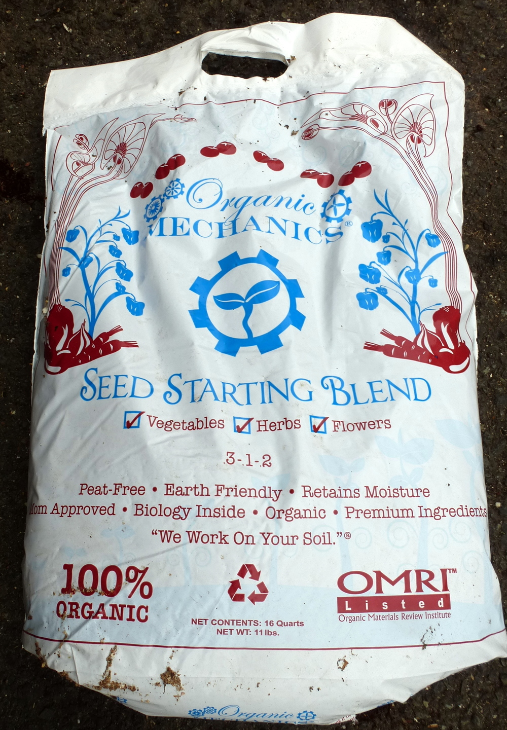 Pre-mixed seed-starting mix