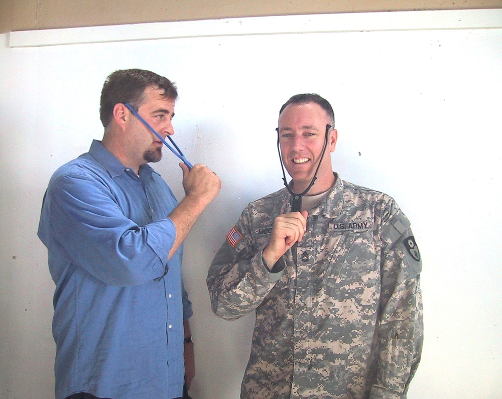 Combat Tested    We donate temple massagers to support service members and veterans    Order Now