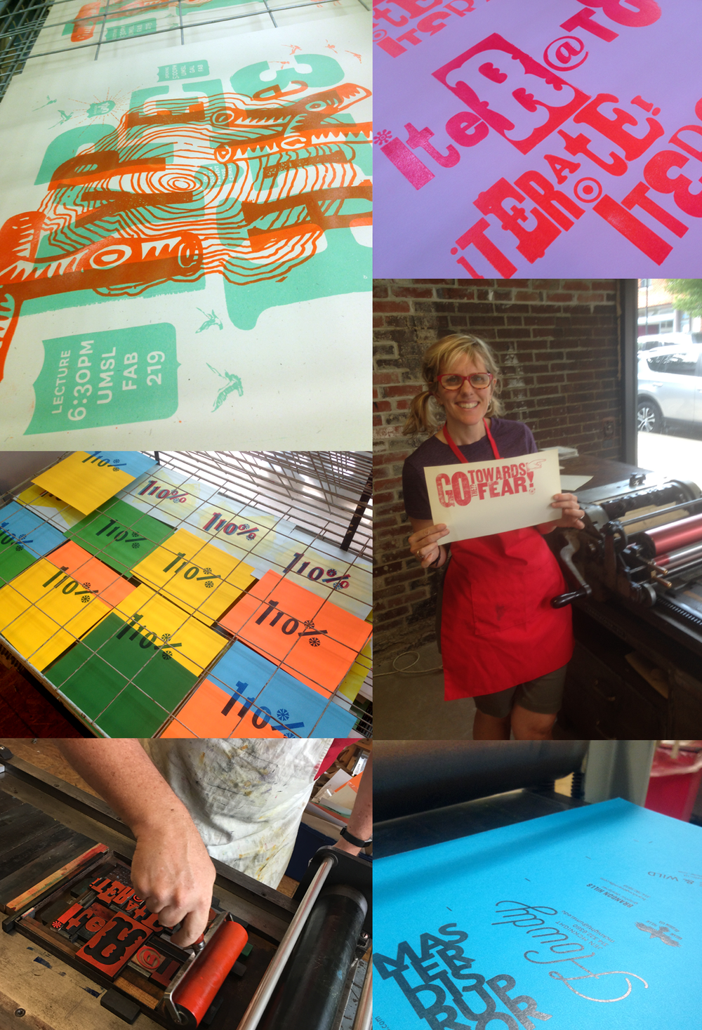 You can probably tell we're in to letterpress and look forward to getting our own up and running soon. Meantime, we love making cool stuff at  Central Print .