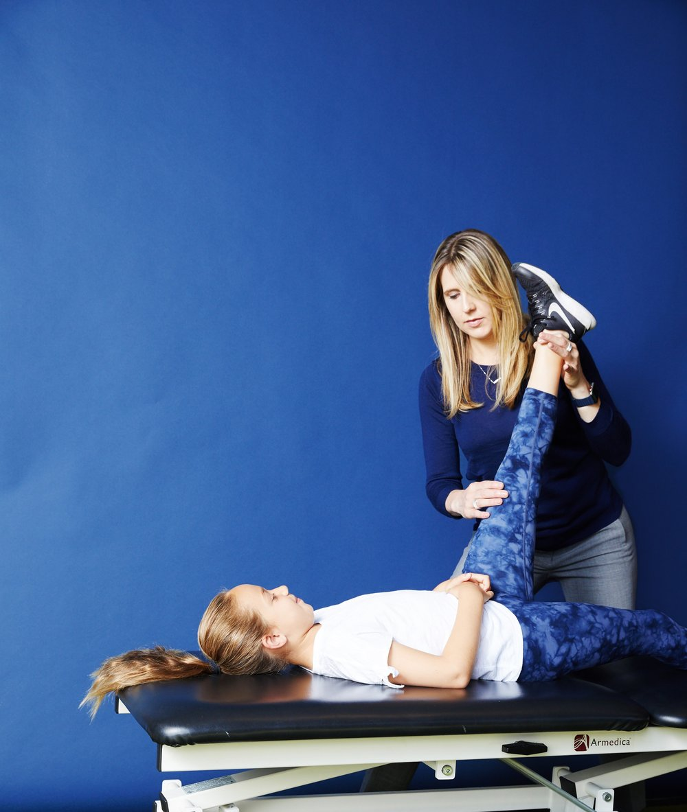Youth sports injury physical therapy