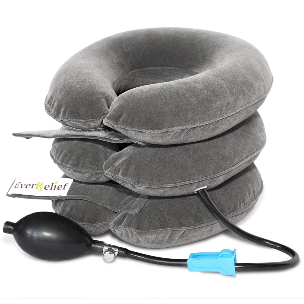 Inflatable traction -
