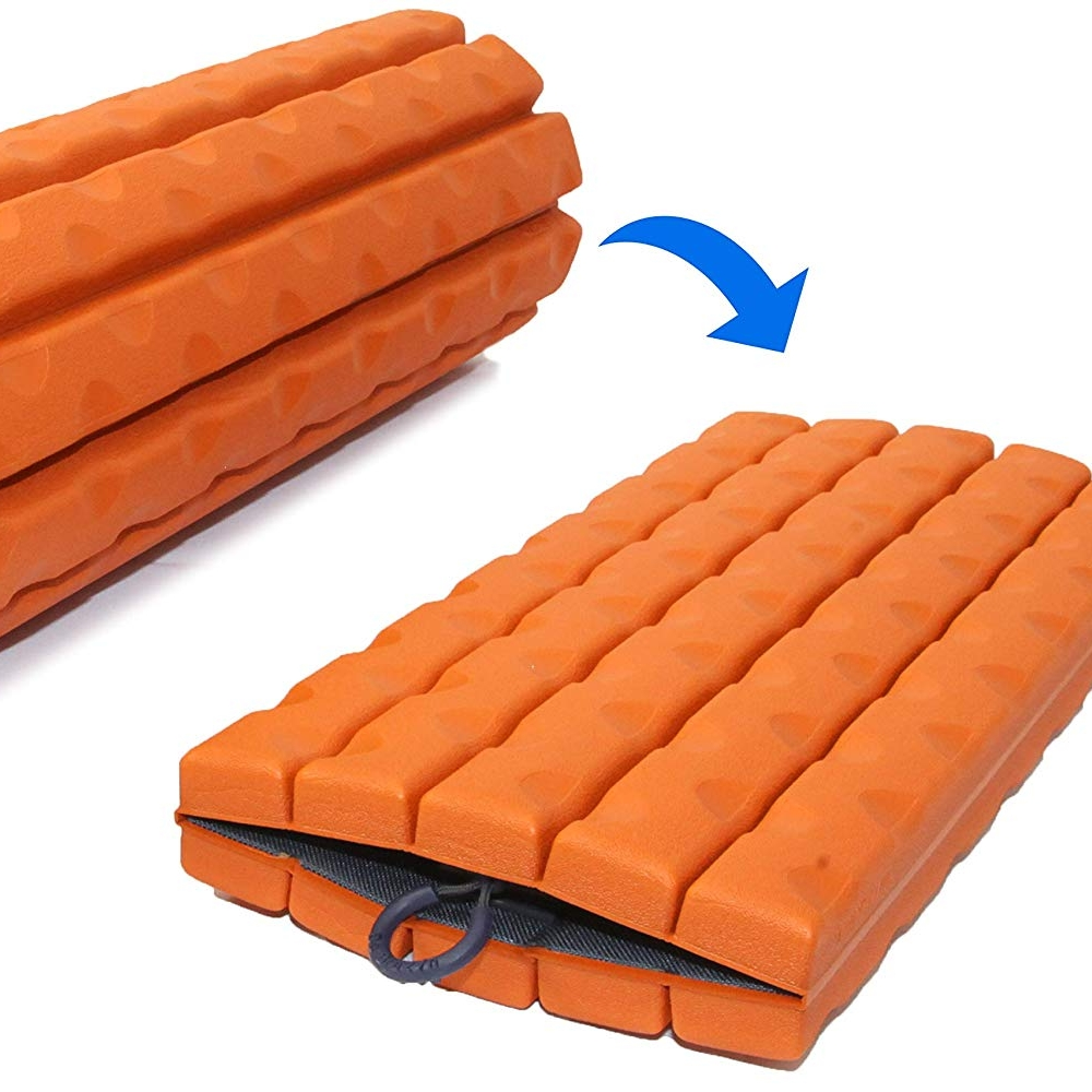 Collapsable foam roller -