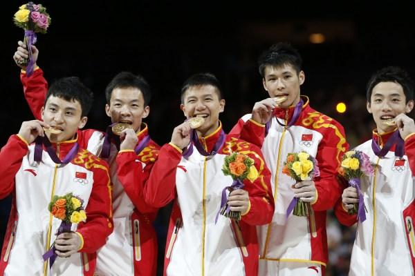 Chinese men's team
