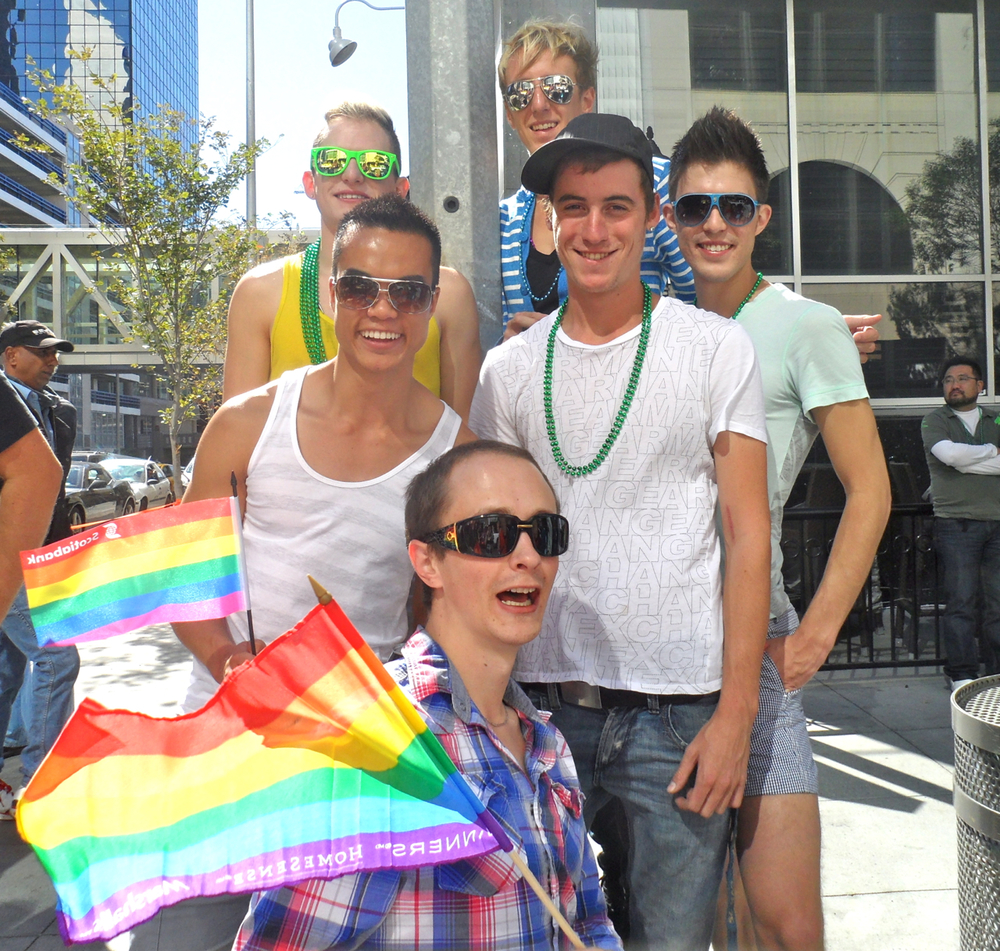 Vince and Friends at Pride