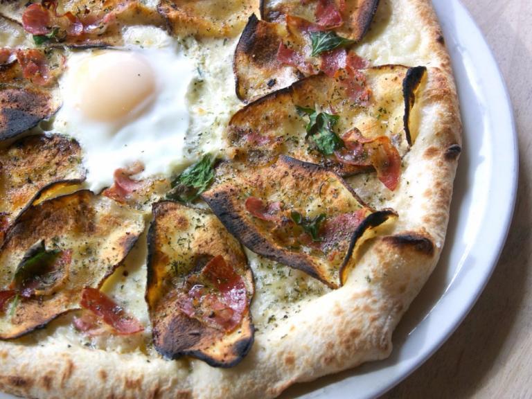 Famoso Neapolitan Pizzeria's Patate Pancetta Pizza