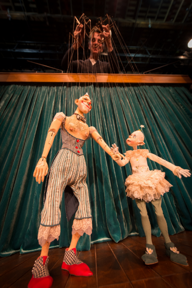 World-famous puppeteer Ronnie Burkett is back in Calgary, pulling the strings for some of his favourite puppets.