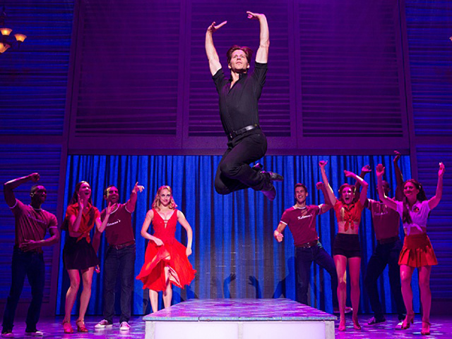 The cast of  Dirty Dancing, The Classic Story On Stage . Photo courtesy of Broadway Across Canada.