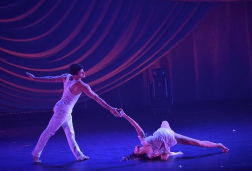 Teddy Forance and Mallauri Esquibel are breathtaking in  Found . Photo courtesy of Shaping Sound.