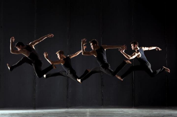 The stars of Shaping Sound. From left to right: Teddy Forance, Travis Wall, Nick Lazzarini and Kyle Robinson. Photo courtesy of Shaping Sound.