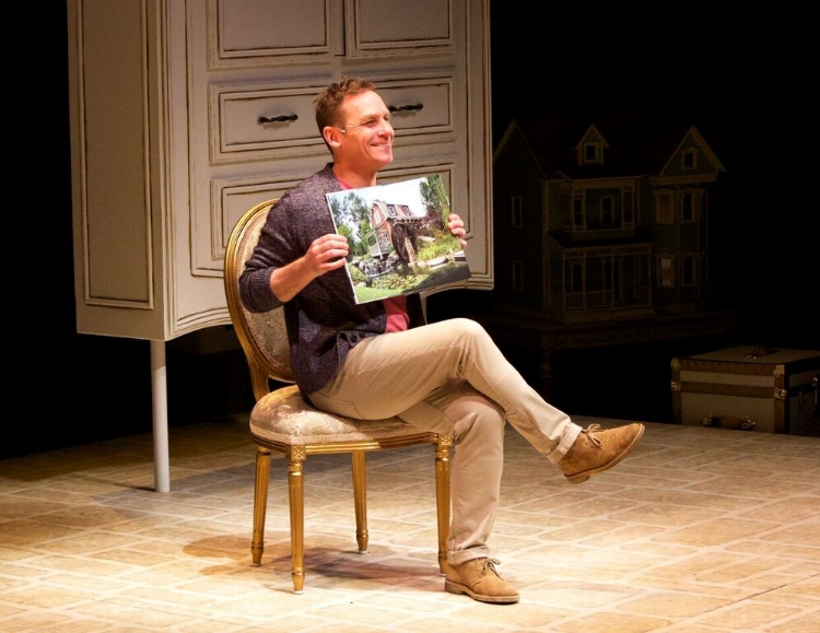 Steven Gallagher puts on an impressive one-man show, but the show itself is written for such a specific audience that commercial viability could be challenging. Photo credit: Alberta Theatre Projects