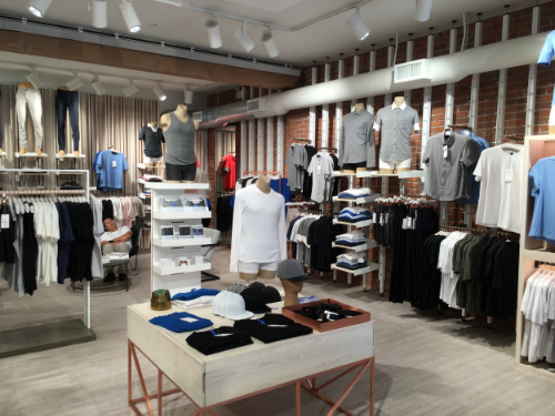 The Kit and Ace flagship store.