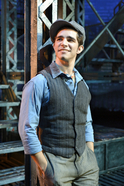 Joey Barreiro leads the show in the role of Jack Kelly. Photo credit: Deen van Meer