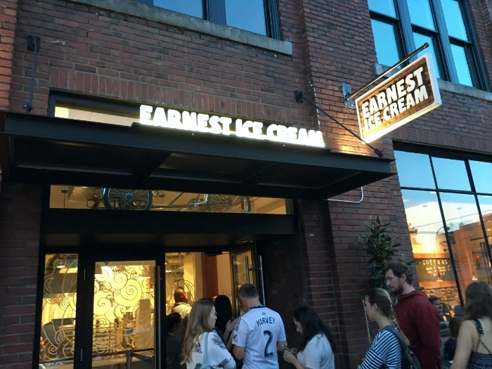 Don't let the line up discourage you. A trip to Earnest Ice Cream is an iconic summer activity you need to try, rain or shine.