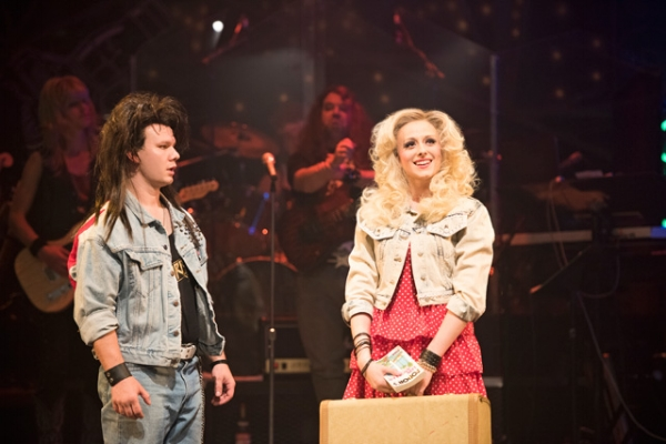 Kale Penny and Marlie Collins are fabulous as the show's leading characters. Photo credit: The Arts Club Theatre.