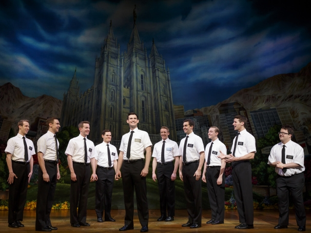 """The Book of Mormon"" has returned to Vancouver and plays until September 4. Photo credit: Broadway Across Canada."