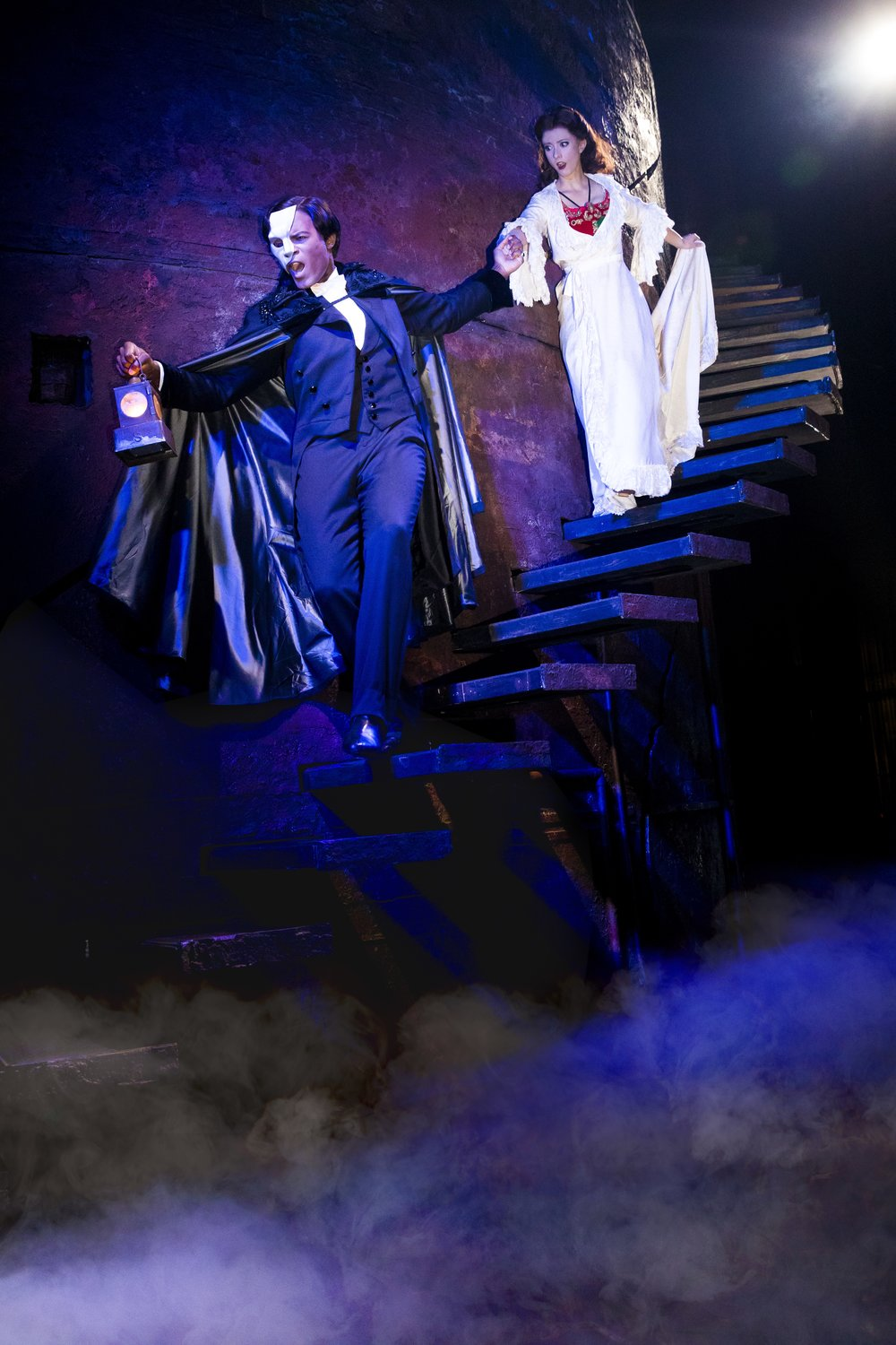 Derrick David and Kate Travis in Broadway Across Canada's  The Phantom of the Opera . Photo: Matthew Murphy