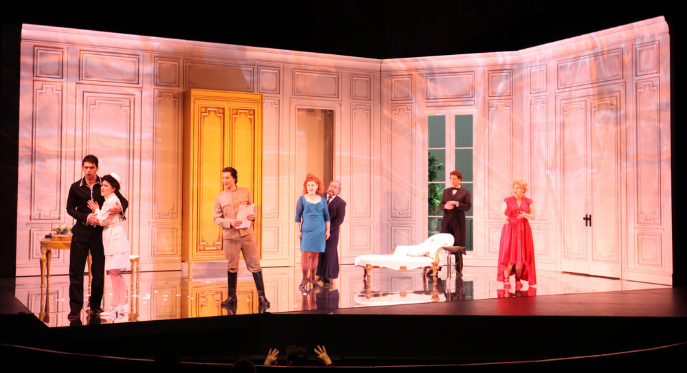 "The cast of Vancouver Opera's ""The Marriage of Figaro"". Photo credit: Tim Matheson"