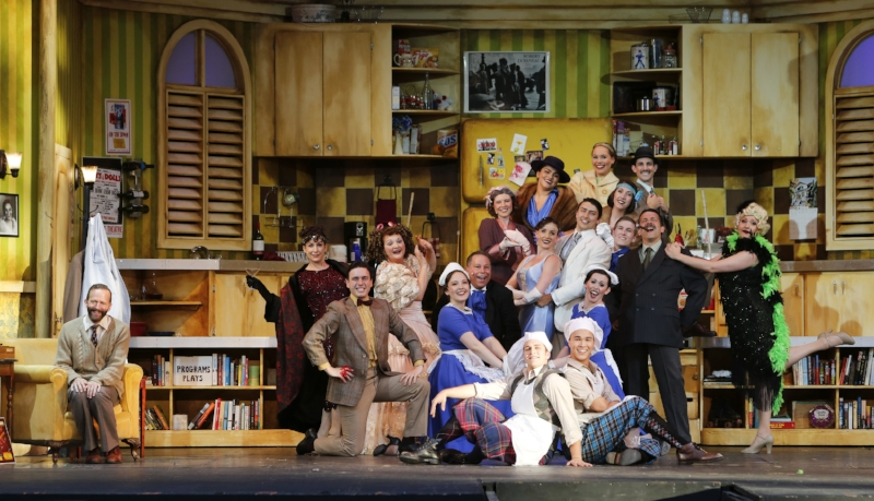 "The cast of ""The Drowsy Chaperone"". Photo credit: Tim Matheson"