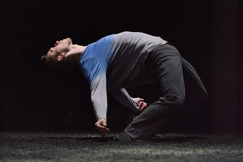 Ballet BC dancer Brandon Alley. Photo credit: Michael Slobodian.