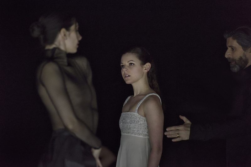 Emily Chessa as Juliet with the company. Photo credit: Michael Slobodian