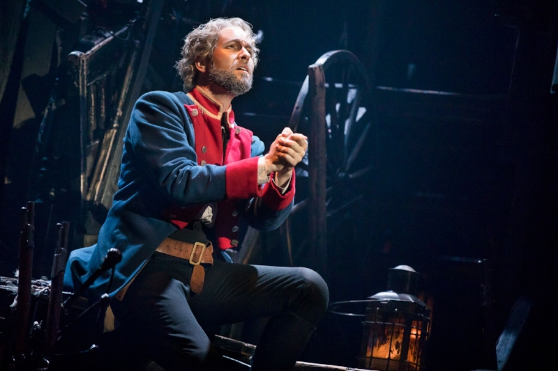 """Bring Him Home"" - Nick Cartell as 'Jean Valjean'. Photo credit: Matthew Murphy"