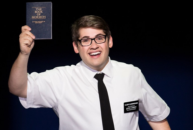 the book of mormon sparkles with fresh young talent and fun humour