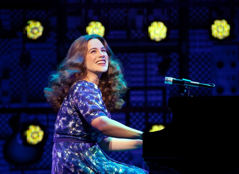 Sarah Bockel stars as Carole King. Photo credit: Joan Marcus
