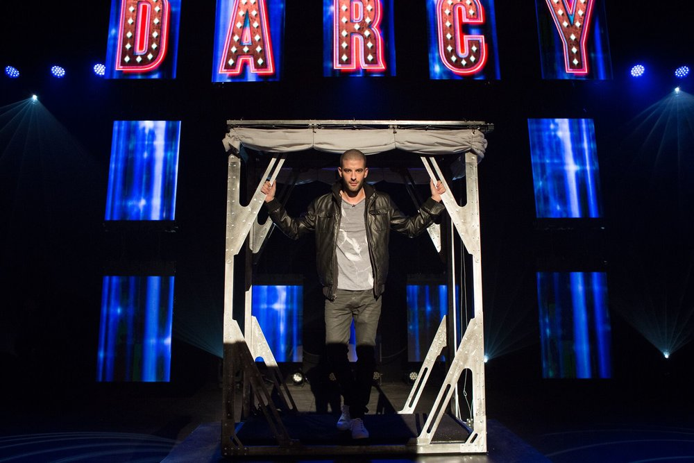 "Darcy Oake ""The Grand Illusionist"". Photo credit: Danielle Baguley"