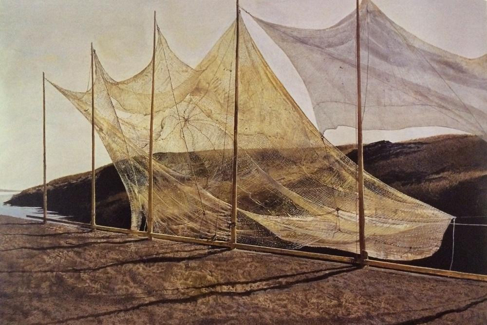 Andrew Wyeth,  Pentecost,  1989.