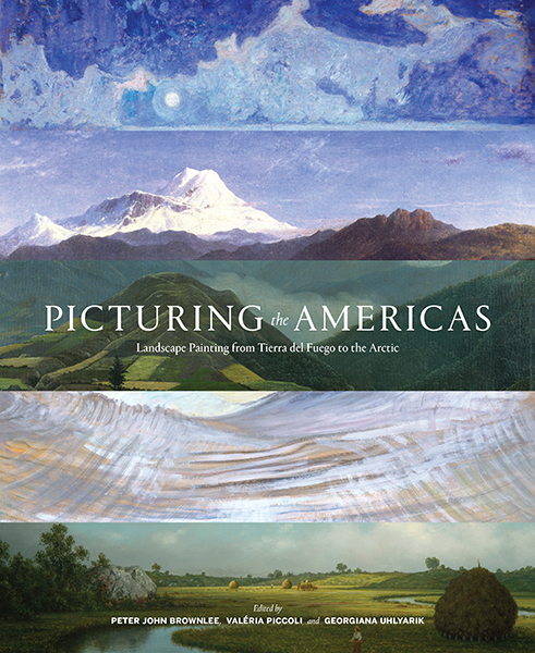 Book Cover for Picturing the Americas.