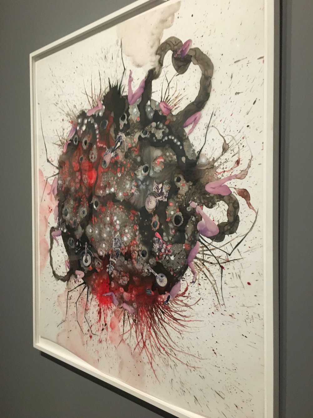 Wangechi Mutu,  Untitled from Tumors , 2004.