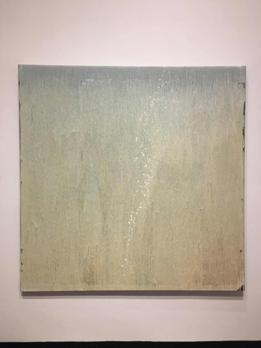 Pat Steir,  White Moon Mist , 2006.