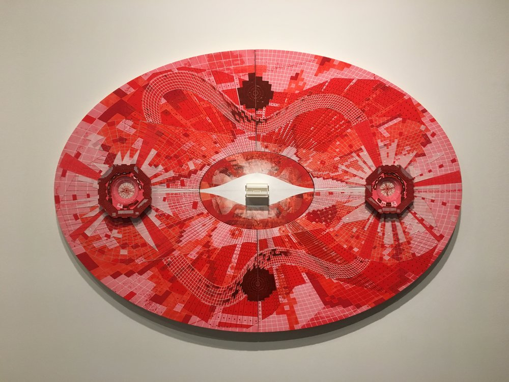 Pedro Barbeito,  LHC Red from The God Particle,  2014