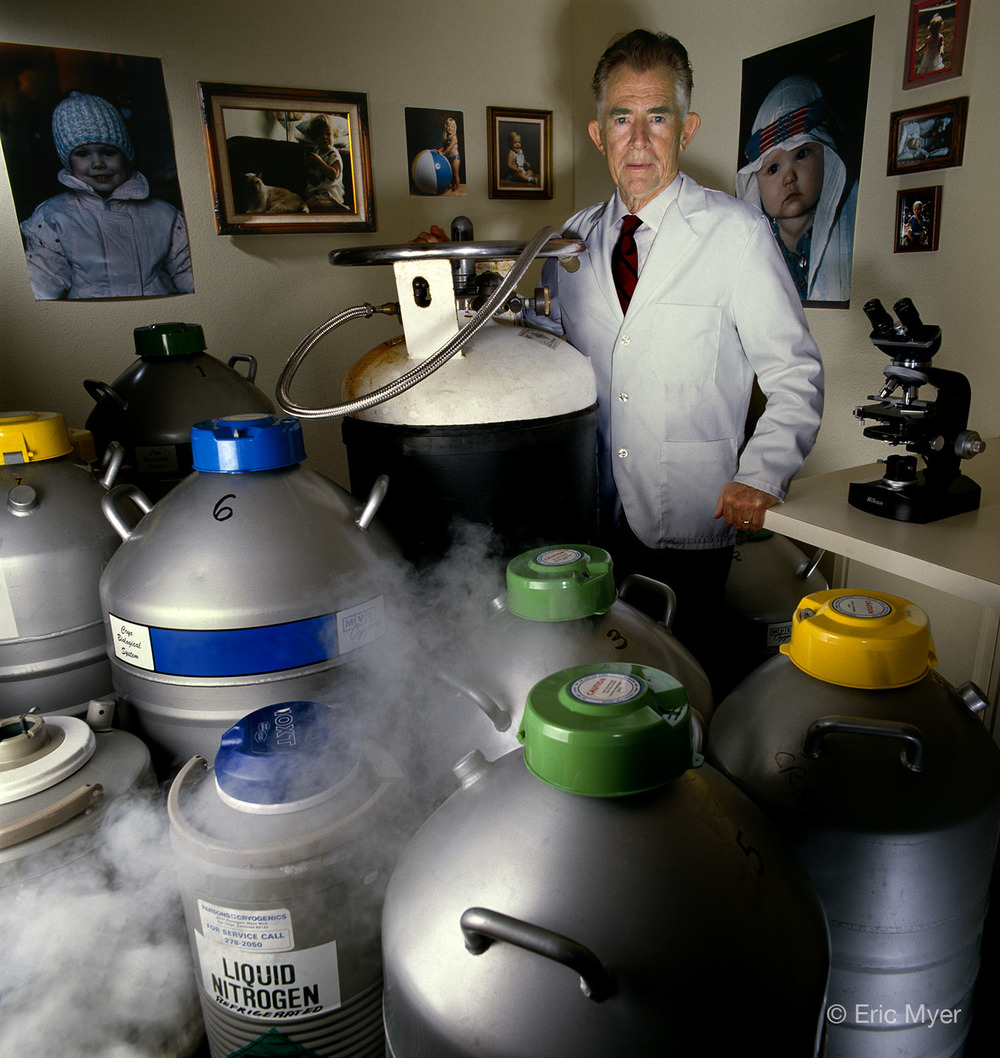 Dr. Robert Graham, Sperm Bank Director