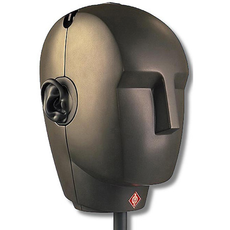 Here is a binaural microphone.