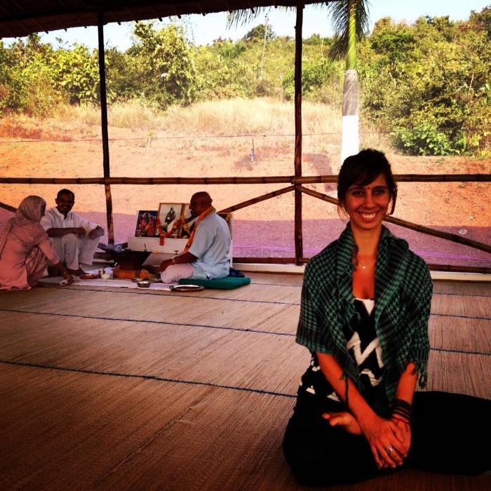 500 Hour Teacher Training Welcome Puja