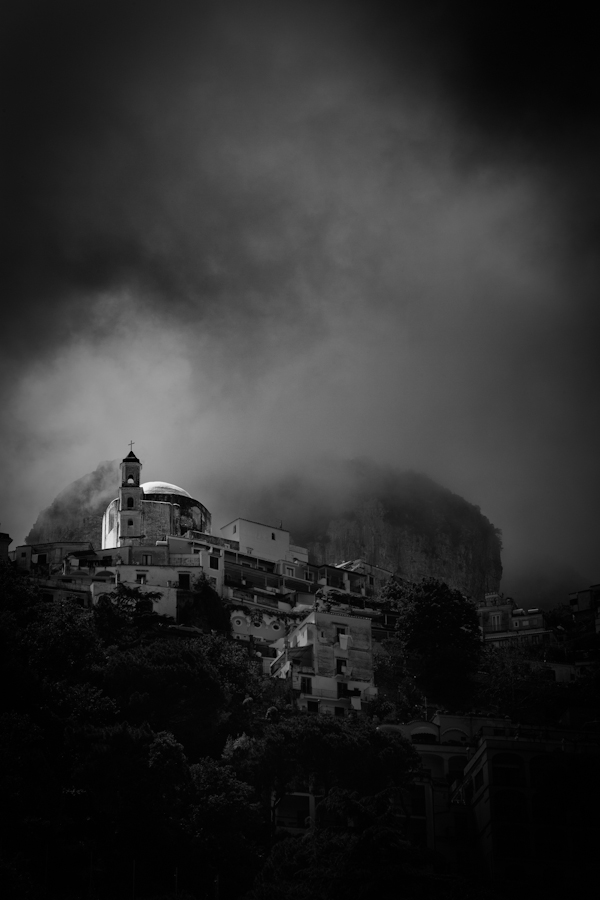 hilltop in positano  positano, amalfi coast, italy