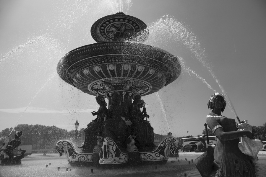 fontaine des mers
