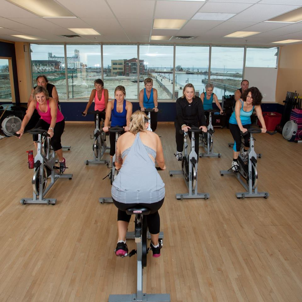 You Can Spin With Us! - Our butt-kicking spin classes are designed to get your heart pumping and sweat dripping for maximum calorie burn.