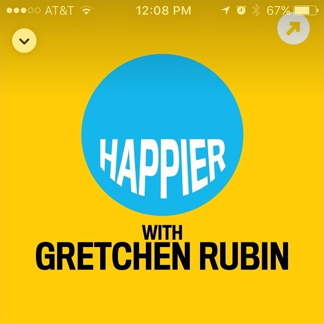 Listening to the latest episode of Happier ⭐️ always makes my day... a little happier 🤓 A full roundup of the best podcasts to make a positive impact on your life will be coming to my blog SOON!