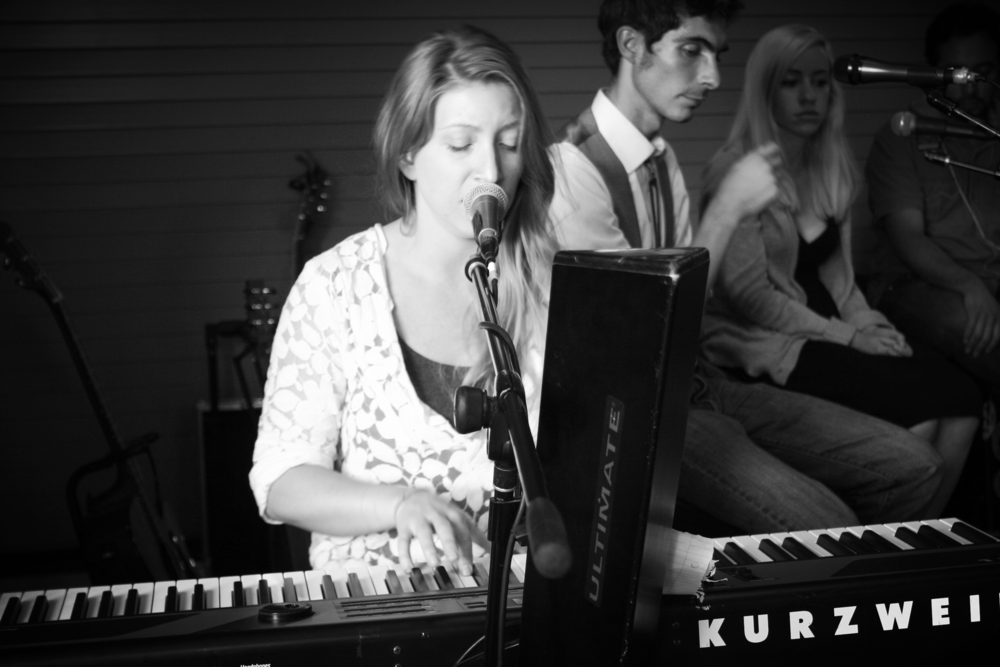 Shreve on keys. Photo Credit: Hannah Oreskovich