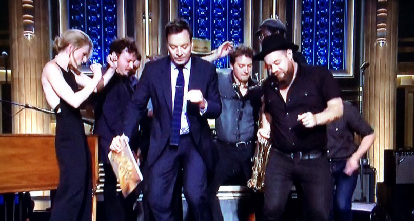 NR dancing with Fallon.