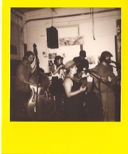 the Bareface crew. Polaroid:   Hannah Oreskovich