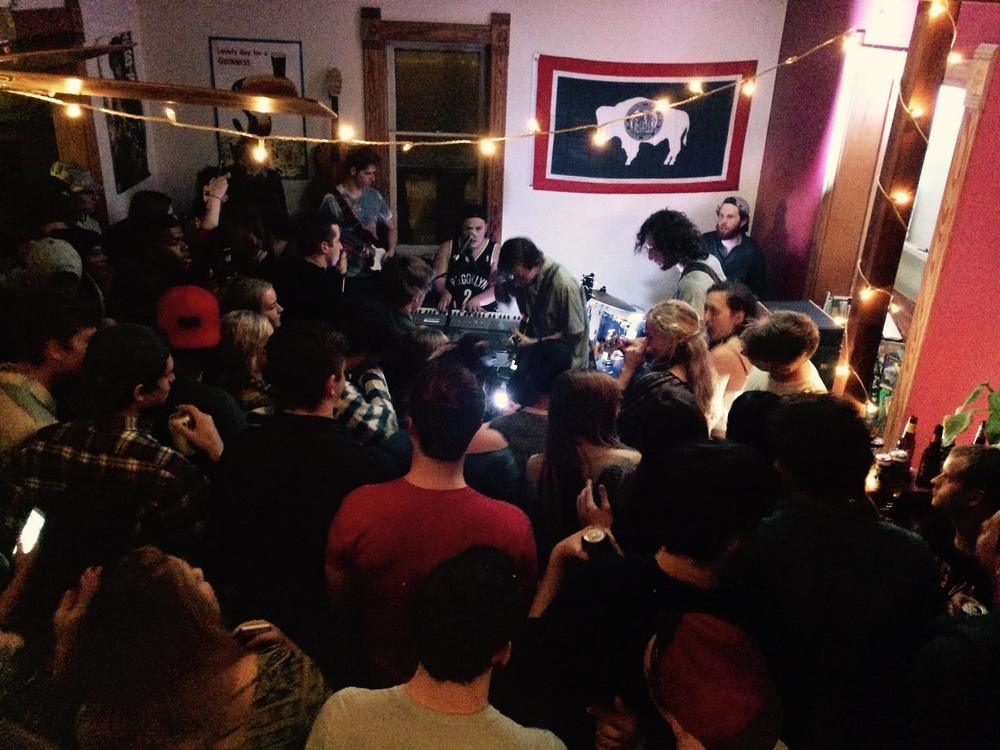 A Hill House party Performance.