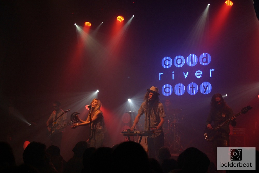 Boulder's Cold River City at The Fox Theatre. Photo Credit: Hannah Oreskovich