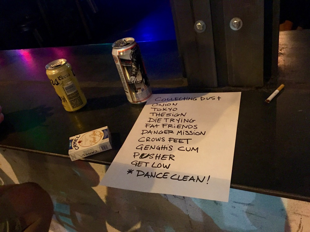 All Chiefs' Set List + Illicits.