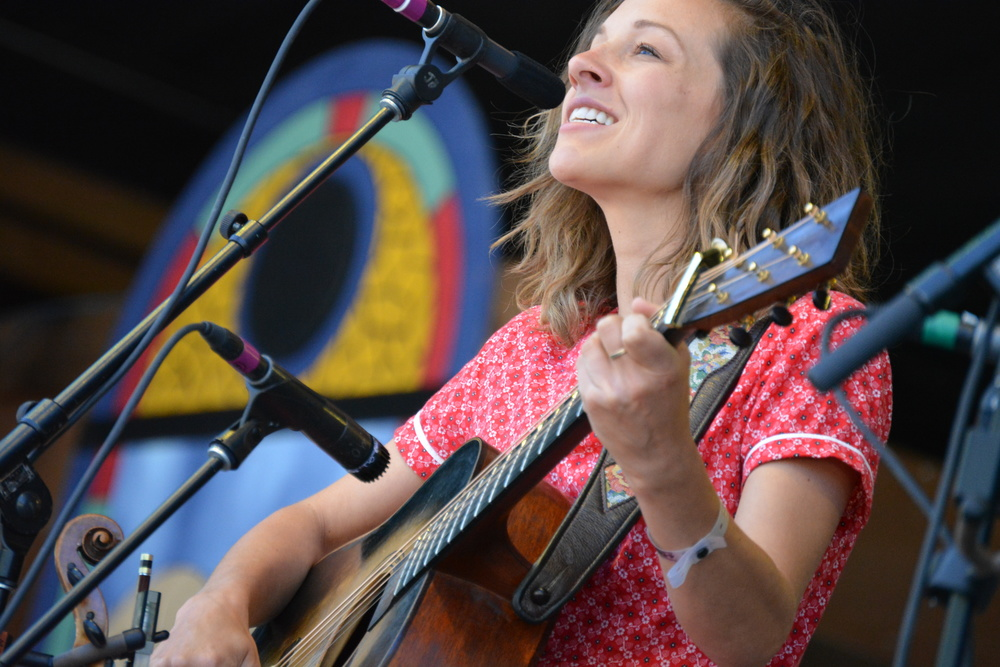 Emily Frantz of Mandolin Orange.