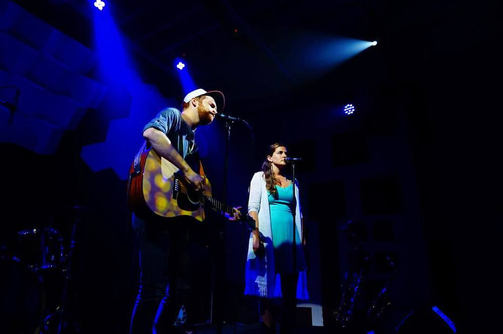 Andrew Sturtz & Sierra Voss. Photo Credit: Mitchael Zonnefeld